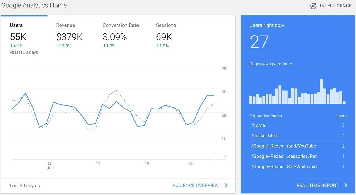 Google Analytics can be used to analyse data from Google Ads campaigns