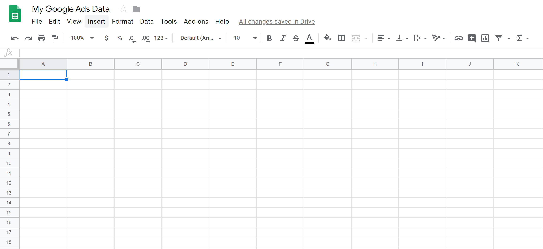 Google Sheets can be a very useful tool for working with data from your Google Ads campaigns