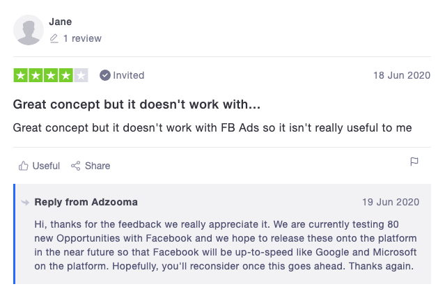 adzooma review - A Review of Adzooma – The Free Google Ads Management and Optimisation Platform
